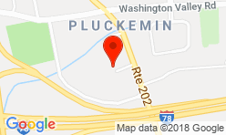 Google Map of 135 US Highway 202/206, Suite 11 Bedminster, NJ 07921