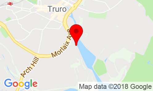 Google Map of CMA House, Newham Road, Truro, Cornwall, United Kingdom