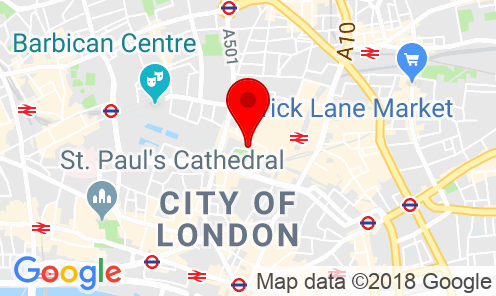 Google Map of Park House, 16 Finsbury Circus London, EC2M 7EB United Kingdom