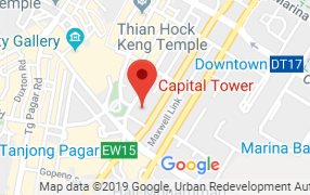 Google Map of 6 Battery Road Singapore 049909